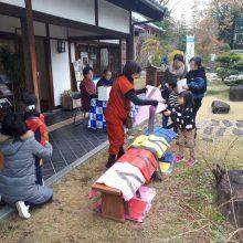 カラフルな忍者服のちびっこ忍者が元気に駆け回った「池田城で忍者学校」に行ってきました!