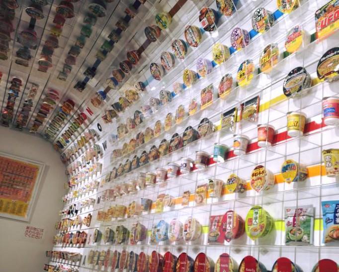 オリジナルのカップラーメンを作ることができる、インスタントラーメン発明記念館へ行ってきました。