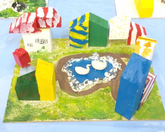 暑い夏! 五月山児童文化センターで涼しく遊ぶ♪