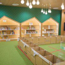 キッズコーナーの絵本貸し出しOK! 池田市立図書館