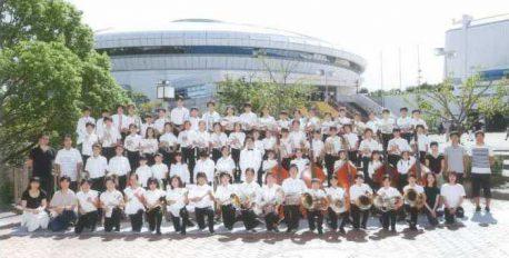 石橋小学校金管クラブによる 議場コンサート