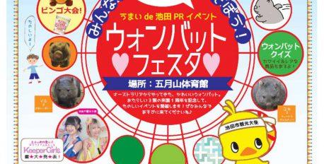 【ウォンバット来園1周年記念】「ウォンバットフェスタ」開催