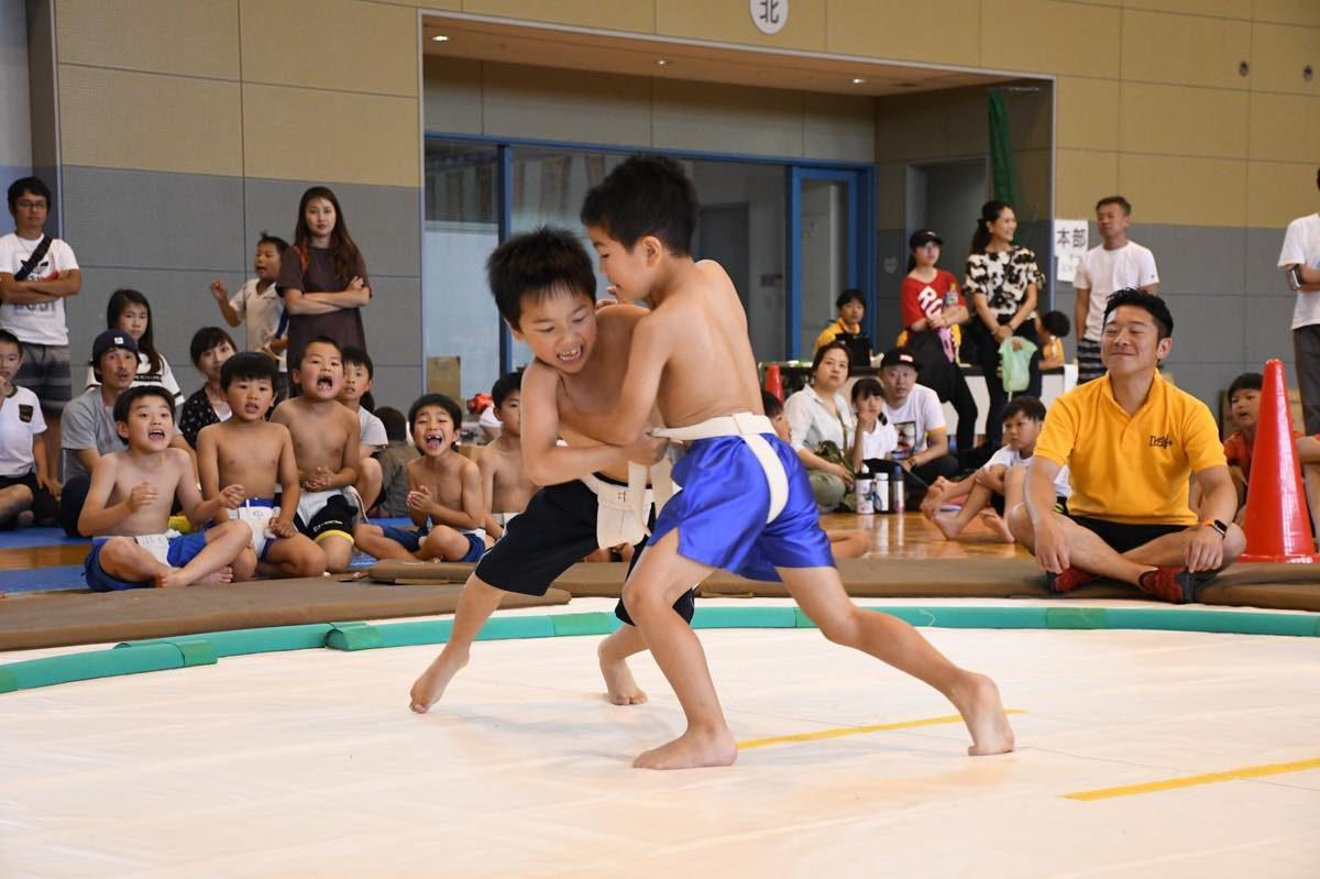 「わんぱく相撲 池田場所」が開催されました!