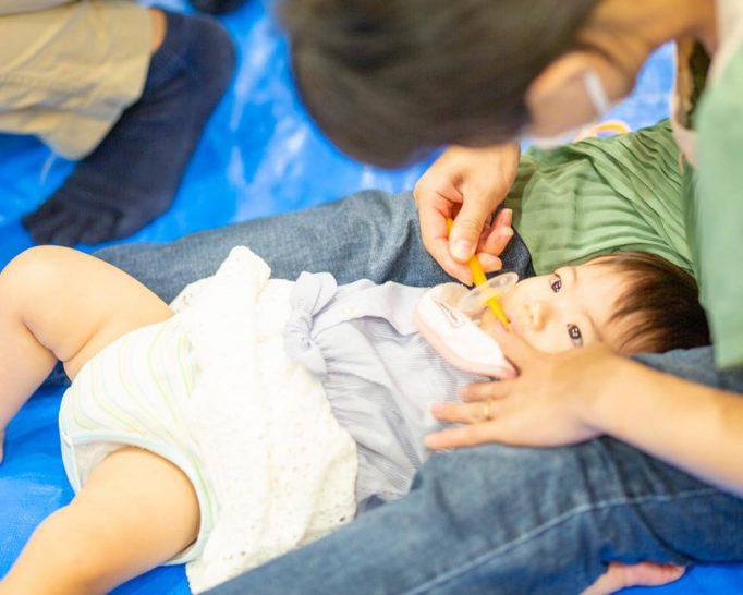 離乳食や歯磨きの悩みを解決! 離乳食講座「お口そだて教室」