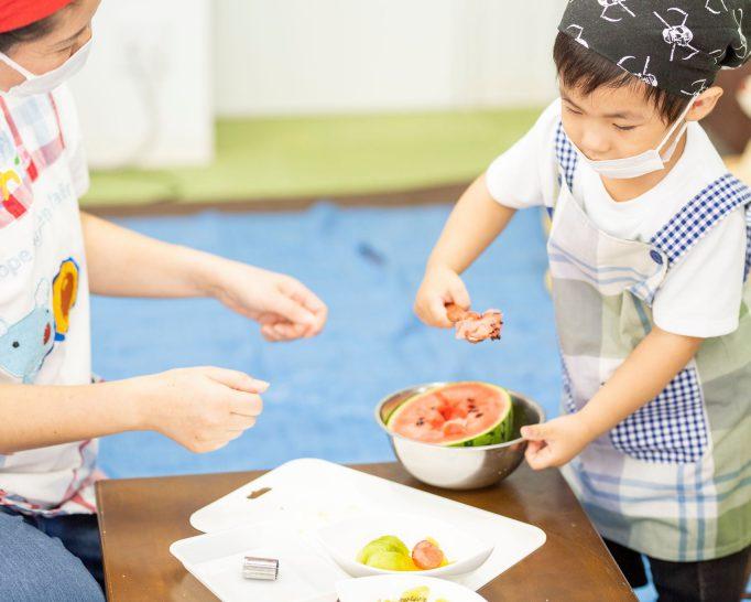 調理体験で、食べることが大好きに! 2才からのこども料理教室「こどもカフェ」