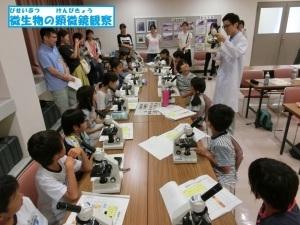 夏休みに顕微鏡で微生物を観察してみませんか?