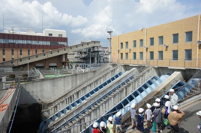 8月9日・12日 下水処理場体験見学会が開催されます。