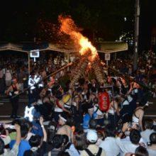 伝統的火祭り がんがら火祭りを見に行こう!