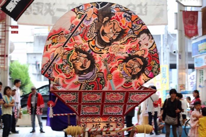 青森の「ねぷた」が池田の商店街にやってくる!