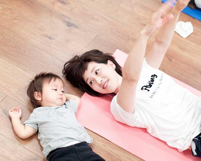 気軽に赤ちゃんと一緒に参加できるヨガ教室、Yoga*Linola 石橋クラスに行ってきました。